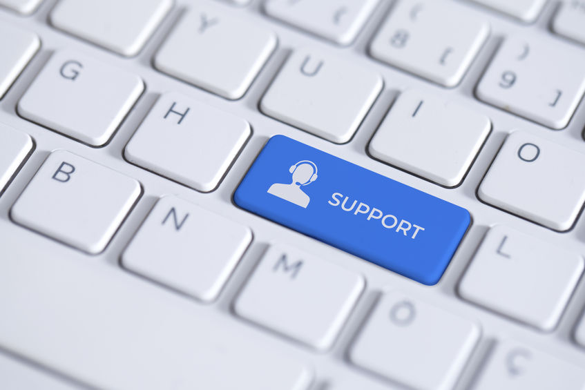 Get Support Button