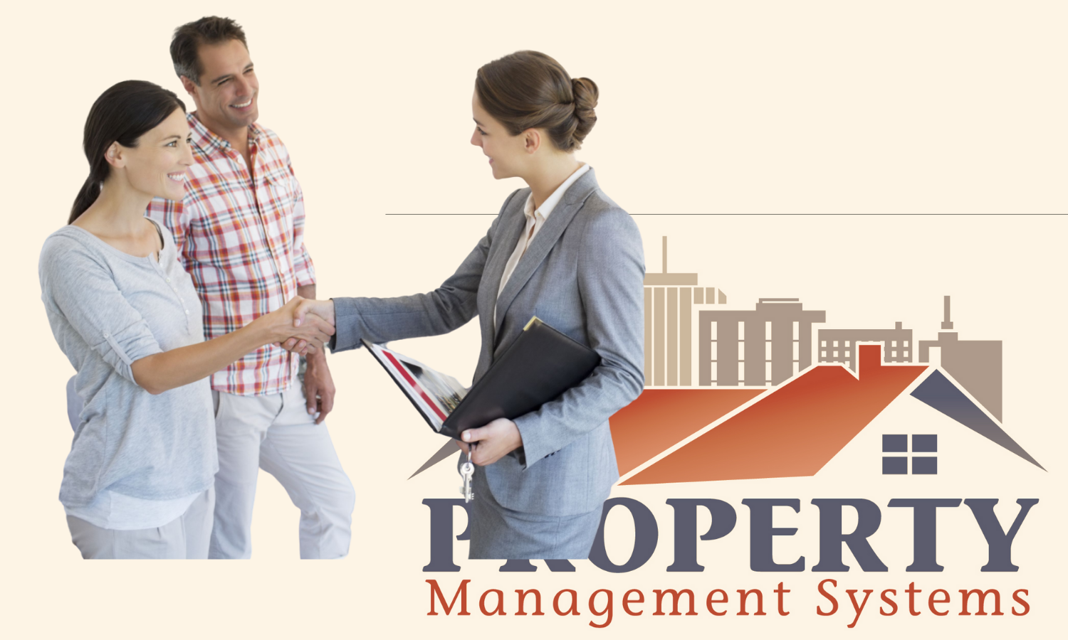 Couple Meeting Property Management